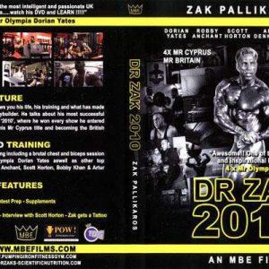 Dr Zak 2010 DVD